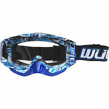 WULFSPORT ADULT GEO MOTOCROSS QUAD ATV ENDURO OFF ROAD WULF GEO GOGGLES  NEW