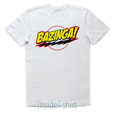 BAZINGA T-SHIRT the big bang theory Sheldon Cooper Penny nerd geek - KOOL MAN