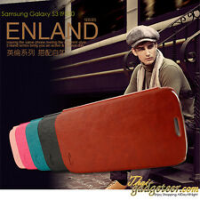 Samsung Galaxy GRAND i9082 KLD Enland Style Flip PU Leather Case Cover Pouch.