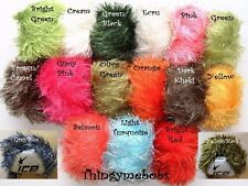ICE YARNS EYELASH CHUNKY WOOL/YARN - 15 COLOURS - 50g BALLS - HEDGEHOG/OWL/TEDDY