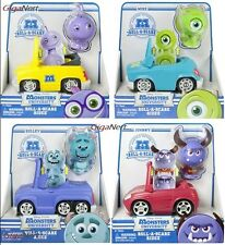 NEW DISNEY PIXAR MONSTERS INC UNIVERSITY ROLL A SCARE RIDEZ MIKE SULLEY RANDY JW
