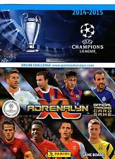 Panini Adrenalyn XL Champions League 2014/2015 Cards - Stars / Master / Experts