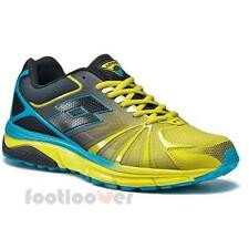 Scarpe Lotto Moonrun R5906 Uomo Sneakers Fashion Running Yellow Black Moda