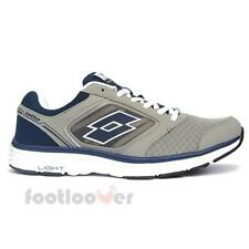 Scarpe Lotto Everide R5915 Uomo Sneakers Fashion Running Grey Blue Moda casual
