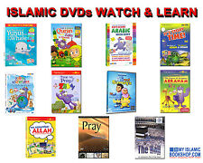 ISLAMIC DVD ZAKY & FRIENDS FOR ADULTS / CHILDREN QURAN / PRAYER  HAJJ DVDs