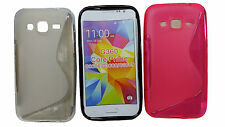S LINE WAVE TPU GEL SILICON CASE COVER FOR SAMSUNG GALAXY CORE PRIME G360