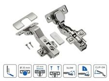 KITCHEN CABINET CUPBOARD WARDROBE DOOR HINGES - 30 DEGREE