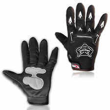 Cycling Full Finger Gloves Mitts Racing Mountain Bike Bicycle Motocross One Size