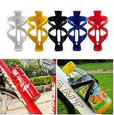 PLASTIC WATER DRINK BOTTLE HOLDER BRACKET CAGE RACK FOR BICYCLE BIKE FREE POST