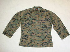 Orig. USMC Marpat Hemd Digital Woodland Blouse US Marines MCCUU Feldhemd Uniform