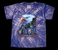 Kinder T-Shirt cool: ADLER+BIKER Gr.122*128*134*140*146*152 Motorrad USA Chopper