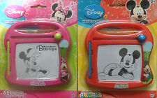 Disney Mickey Mouse or Minnie Mouse Magnetic Sketcher Childrens Kids Scribbler