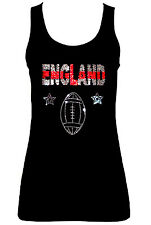 ENGLAND ENGLISH SPORT RUGBY CANOTTE( CON GEMME)all taglia UK8 - 16