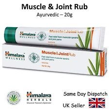 HIMALAYA HERBALS MUSCLE & JOINT RUB - Pain Relief Guaranteed - 20g
