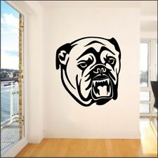 BULLDOG animal wall sticker decal dog pet room decals stickers