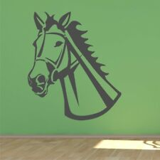 HORSE HEAD large wall sticker living room bedroom kids wall decal