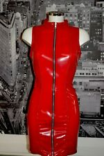 THE FEDERATION RUBBER LATEX ZIP DOMINATRIX DRESS  ALL COLOURS  BRAND NEW