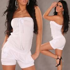 +SeXy BandeauOverall+Bustier Jumpsuit+Partydress+StrandOutfit+34/36/38+2 Farben+