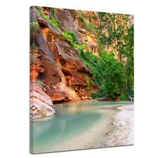 "Bilderdepot24 Leinwandbild ""Fluss Virgin River"""