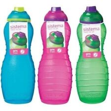 SISTEMA SPORTS WATER DRINKS BOTTLE HIKING CAMPING CYCLIN 700ml BPA Free