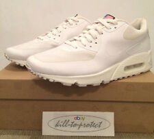 NIKE AIR MAX 90 HYPERFUSE USA WHITE Sz US12 UK11 QS 613841-110 Independence Day