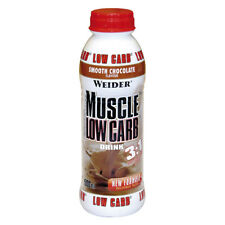 WEIDER MUSCOLO Low Carb Drink 12 x 500 ML500 ml Flacone in PET (PRO 1000 ml)
