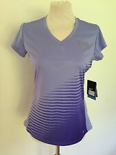 WOMENS NIKE DRY FIT V-NECK MILER RUNNING TOP GYM TRAINING RRP £29 BNWT S - XL