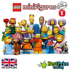 Lego The Simpsons Minifigures Series 2 71009 *BRAND NEW *PICK ANY ONE *2015