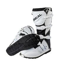 ONeal Rider Motocross Stiefel weiss Enduro boot Quad mx  42 43 44 45 46 47 48