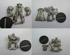 WARHAMMER 40K ROGUE TRADER SPACE MARINES COMMAND CHARACTERS EARLY VERSIONS