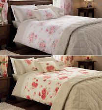 Rosa Duvet Cover with Pillowcase Quilt Cover Bed Set Single Double King SKing
