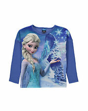 ENGLAND DISNEY FROZEN ELSA TOP SHIRT PULLOVER104-110-116-122-128-134-140-146-152