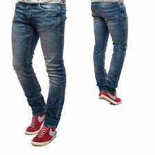 Jack & Jones Jeans JJIGLENN JJORIGINAL JJ 887 NOOS Slim Fit Denim Herren Blau