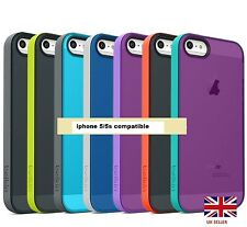 ORIGINAL BELKIN GRIP CANDY SHEER Translucent Colorful Case Cover for iPhone 5/5S
