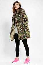 ADIDAS ORIGINALS WOMEN'S CAMO PARKA/PARKER JACKET TRENCH COAT CAMOUFLAGE - £280