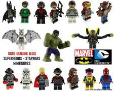 Genuine LEGO DC Marvel Super Heroes & Star Wars Minifigures Split From Sets