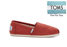 TOMS Womens Classics Espadrilles Slip On Picante Red Seasonal Various Sizes