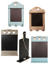 Wooden Chalkboard Memo Board Shabby Chic Rustic Blackboard Home Kitchen Gift