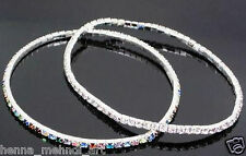 Sexy Colorful  Rhinestone Crystal Bracelets Summer Anklets Foot Chain