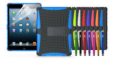 HEAVY DUTY SHOCKPROOF KICKSTAND CASE + SCREEN PROTECTOR FOR IPAD AIR (5th Gen)