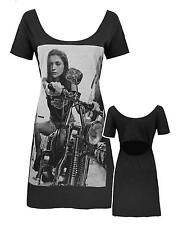 Blood Is The New Black Girl on Bike Women's Dress