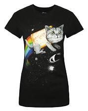 Goodie Two Sleeves Space Cat Women's T-Shirt