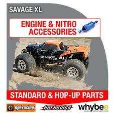 HPI SAVAGE XL [All Engine Parts] Genuine HPi Racing R/C Standard & Hop-Up Parts!