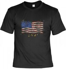 T-Shirt - Stars and Stripes - USA Shirt bedruckt Flagge