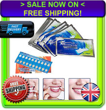 ♚ 28 PROFESSIONAL TEETH WHITENING STRIPS♚RAPID HOME TOOTH BLEACHING♚WHITE WHITER