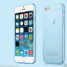 Blue Apple iPhone 6 4.7 Flexible Back Case Cover + Protector