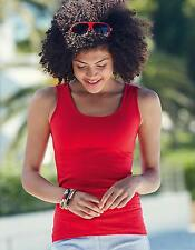 Lady-Fit Valueweight Vest Damen T-Shirt | Fruit of the Loom