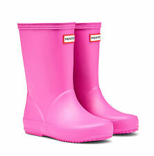 HUNTER FIRST KIDS' WELLINGTON BOOTS – LIPSTICK  - KFT5003RMA
