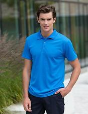 Cooltouch Textured Stripe Sport Poloshirt + Cooltouch | Henbury