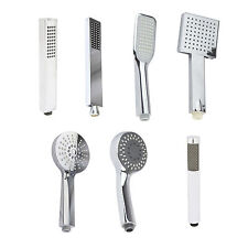 ROUND SQUARE RECTANGLE SINGLE MULTI MODE HANDHELD HANDSET SHOWER HEAD